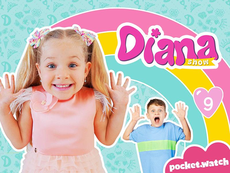 Kids Diana Show - 76 triệu đăng ký