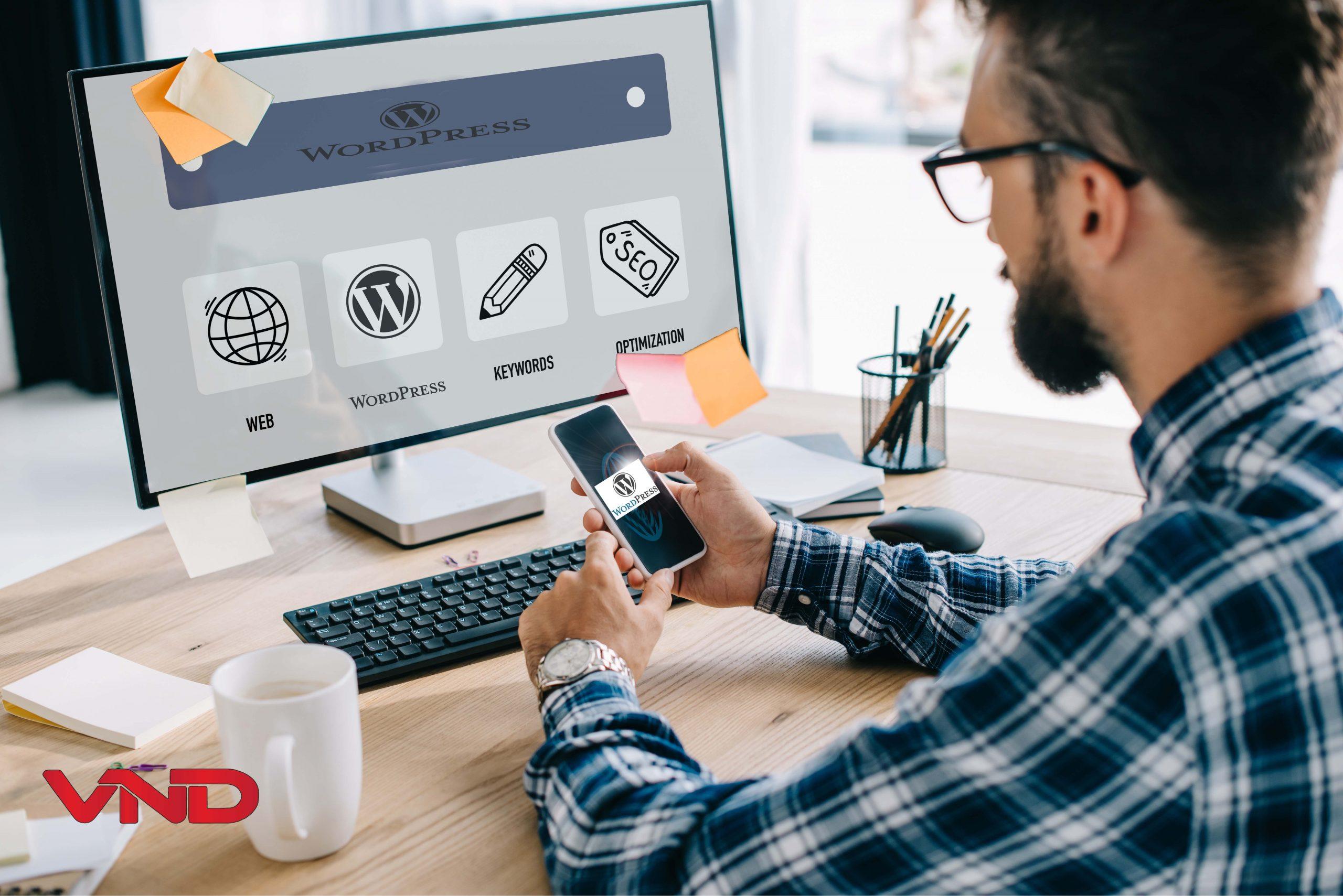 Quản trị website wordpress
