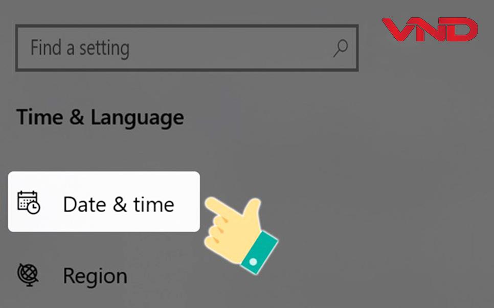 Cách chỉnh thời gian ngày giờ trên máy tính