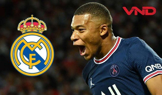 PSG đồng ý đàm phán thương vụ Mbappe với Real Madrid, 180 triệu euro, Chủ tịch Real Madrid, Florentino Perez, CLB PSG ở Qatar - DIARIO AS