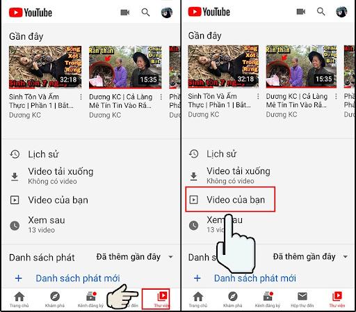 Rất dễ dàng để tạo 1 video lên Youtube
