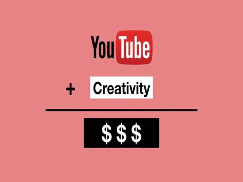 Sử dụng Youtube để kiếm tiền onl, tăng độ nhận diện thương hiệu