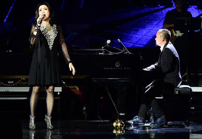 Nhạc sĩ Quốc Trung và Diva Thanh Lam